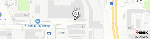 ПЭК на карте Санкт-Петербурга