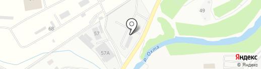Череповецкий трубопрокатный завод на карте Мурино
