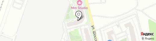 Куриное царство на карте Мурино