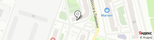 Sova на карте Мурино
