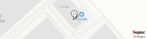 Лузар на карте Санкт-Петербурга