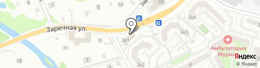 Торговый центр на карте Мурино