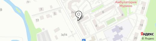 ДЕНТСЕРВИС на карте Мурино