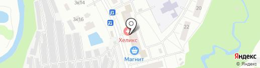 Лилия на карте Мурино