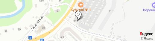 ProkatBoxov.ru на карте Нового Девяткино