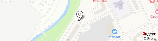 Милана на карте Нового Девяткино
