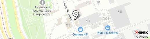 Миртэкс на карте Санкт-Петербурга