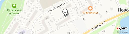 Невский Альянс на карте Нового Девяткино