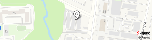 Муринское кладбище на карте Мурино