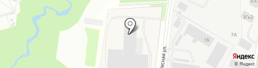 ПиэМДжи на карте Мурино