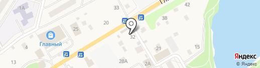 Манок на карте Нового Девяткино