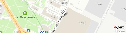 Российский Речной Регистр на карте Санкт-Петербурга