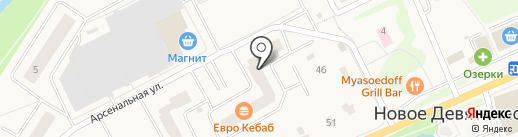 РостОК на карте Нового Девяткино