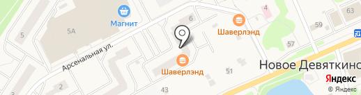 Новостройки на карте Нового Девяткино