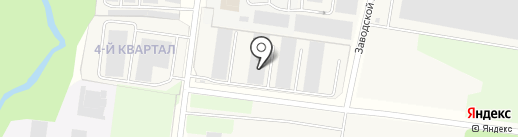Хольцпласт на карте Мурино