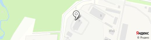 Техно-Строй на карте Мурино