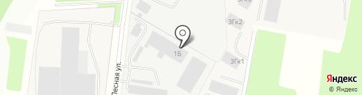 Керамос на карте Мурино