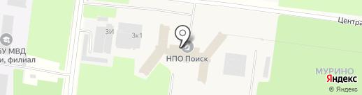ВИКОНА ПЛЮС на карте Мурино
