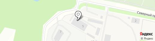 Руско-Дом Мебель на карте Мурино