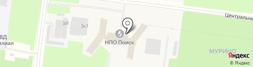 Алант на карте Мурино