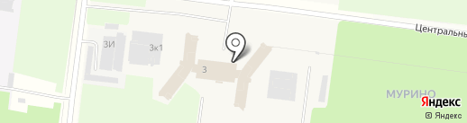 La Escandella на карте Мурино