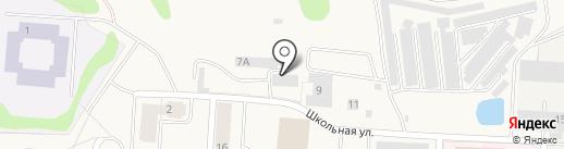 Фартуна-Авто на карте Нового Девяткино