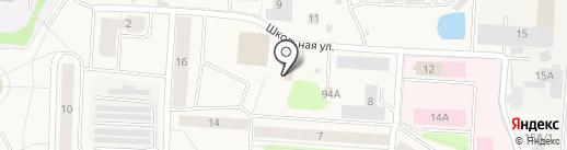 Девяточка на карте Нового Девяткино