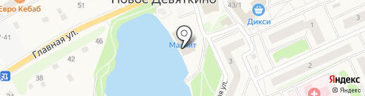 РоссТур на карте Нового Девяткино
