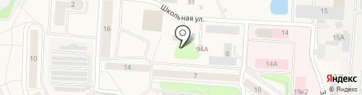 Платежный терминал, Петербургский социальный коммерческий банк на карте Нового Девяткино
