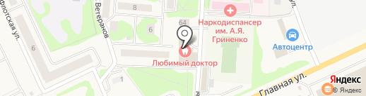 Цветочный магазин на карте Нового Девяткино