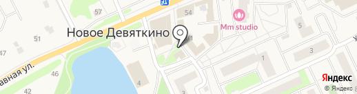Магазин свежей выпечки на карте Нового Девяткино