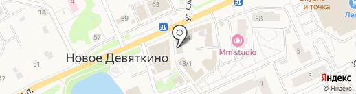 КрасиваЯ на карте Нового Девяткино