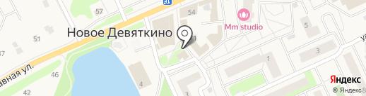 Партнеры на карте Нового Девяткино