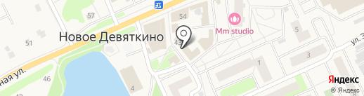 Магазин обуви на карте Нового Девяткино