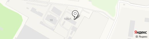 ЛенБетон на карте Нового Девяткино