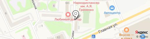 Продовольственный магазин на карте Нового Девяткино