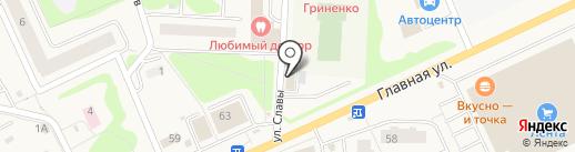 999 на карте Нового Девяткино