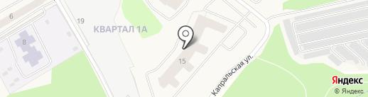 Петербургская недвижимость на карте Нового Девяткино