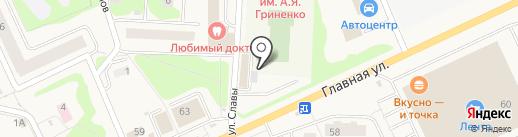 Region47 на карте Нового Девяткино