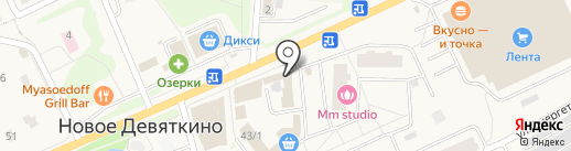 Малибу на карте Нового Девяткино