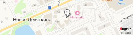Пункт приема стеклотары и металлолома на карте Нового Девяткино