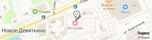 Магазин оптики на Главной на карте Нового Девяткино