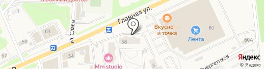 Магазин разливного пива на карте Нового Девяткино
