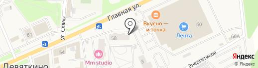 Юлмарт на карте Нового Девяткино