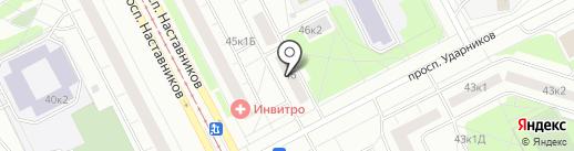 Сеть доступных аптек на карте Санкт-Петербурга