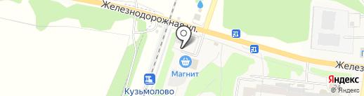 Буквоежка на карте Кузьмоловского