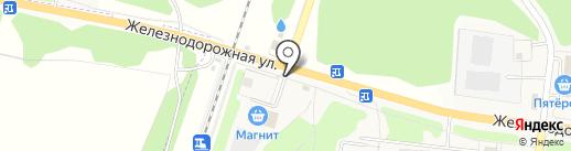 Магазин трикотажных изделий на карте Кузьмоловского