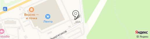Шиномонтажная мастерская на карте Нового Девяткино