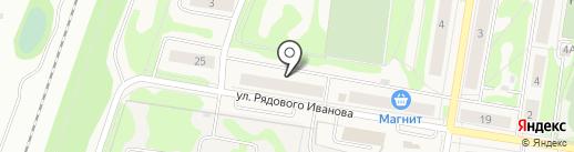 В Форме на карте Кузьмоловского