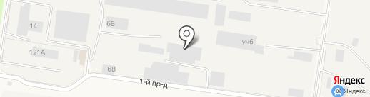 ГУДВИЛЛ СНАБ на карте Нового Девяткино